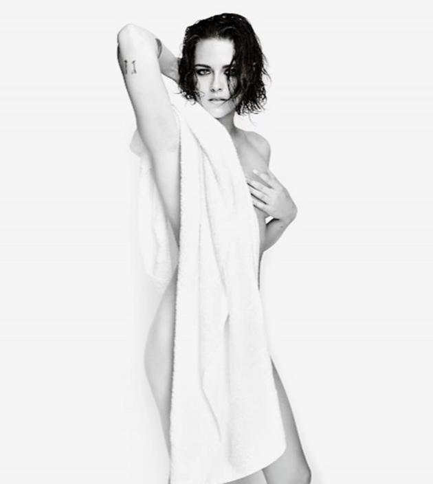Kristen Stewart posa nua para ensaio do fotógrafo Mario Testino ...