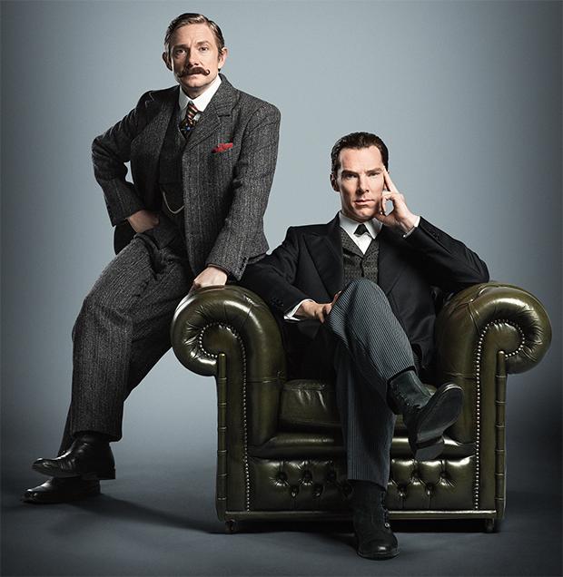Sherlock: Teaser mostra Benedict Cumberbatch de volta ao papel ...