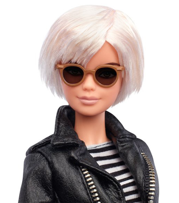 Andy Warhol vira boneca Barbie - Pipoca Moderna