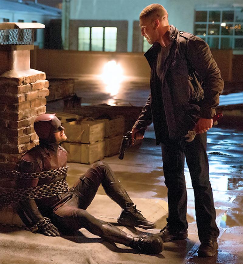 Demolidor encontra Justiceiro e Elektra em nove fotos da 2ª temporada