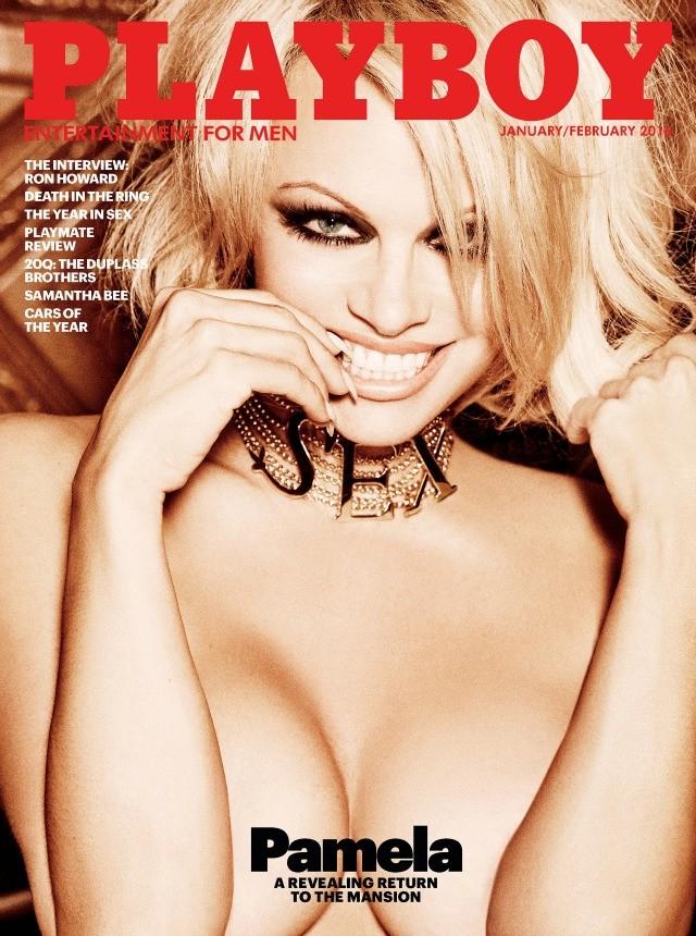 Pamela Anderson fará a última nudez da história da Playboy ...