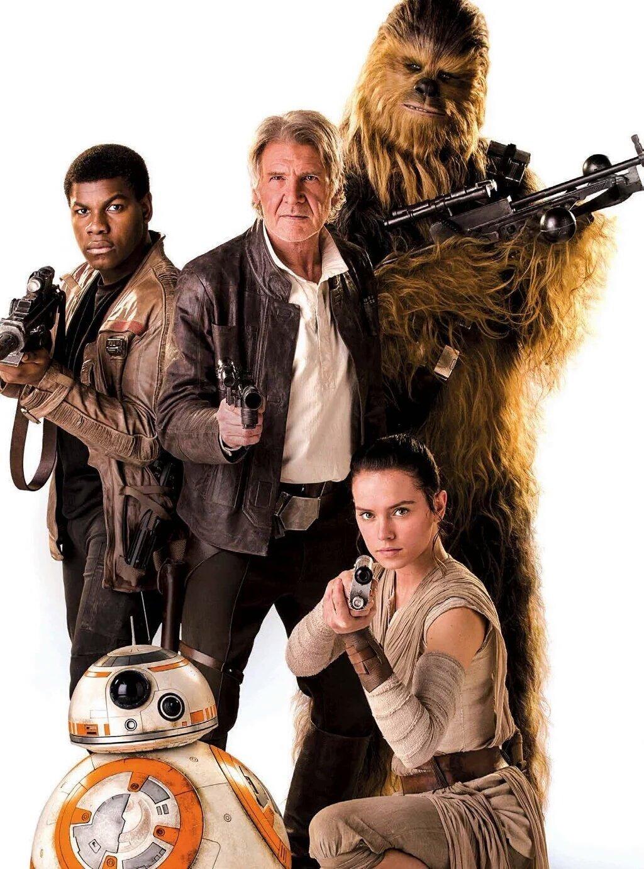 Star Wars mostra sua força com estreia recorde em metade dos cinemas do Brasil