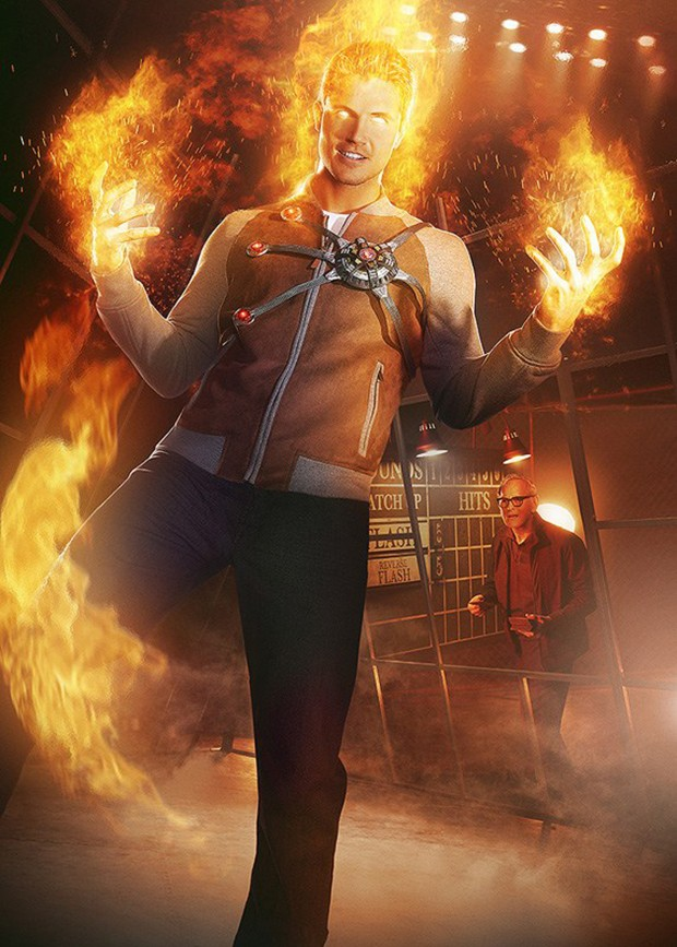 The Flash: Robbie Amell voltará à série como o vilão Morte Nuclear ...
