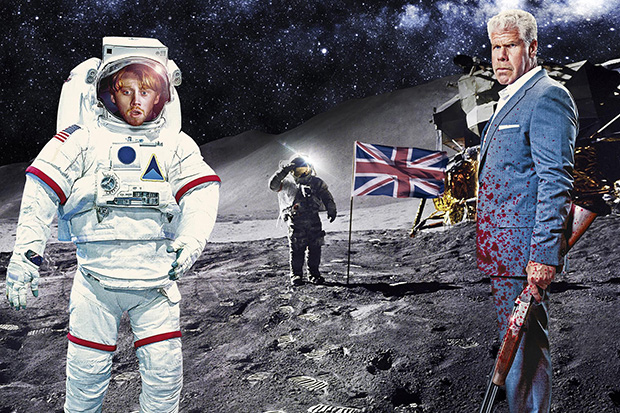 Moonwalkers: Rupert Grint vai à lua em trailer de comédia