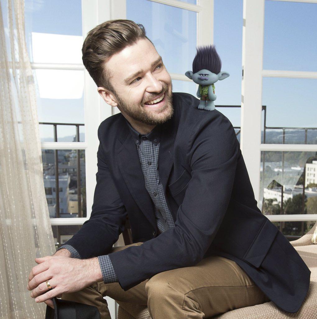 Justin Timberlake lança clipe com música da trilha de Trolls