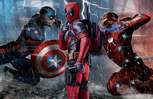 Deadpool junta-se ao time do Capitão América na guerra do Twitter ...