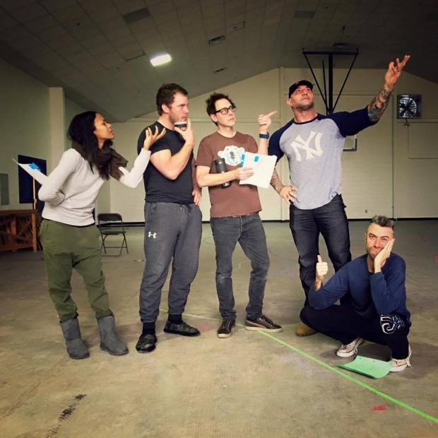 Guardiões da Galáxia 2: Surgem as primeiras fotos dos bastidores ...