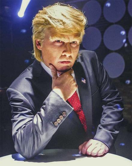 Johnny Depp interpreta Donald Trump em vídeo cômico