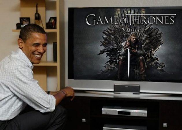 Obama já viu os episódios da 6ª temporada de Game of Thrones ...
