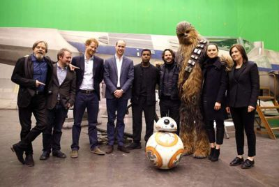 Os príncipes William e Harry viverão stormtroopers no novo Star Wars