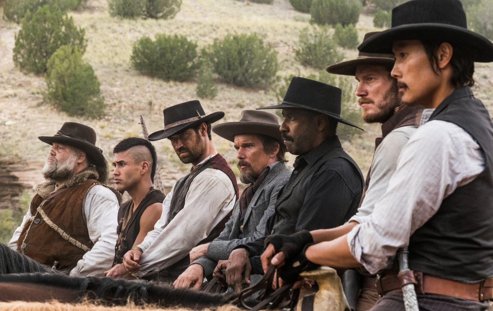 Resultado de imagem para sete homens e um destino elenco