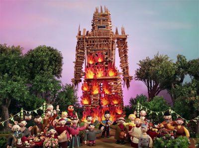 Radiohead lança clipe animado com referência ao terror cult O Homem de Palha