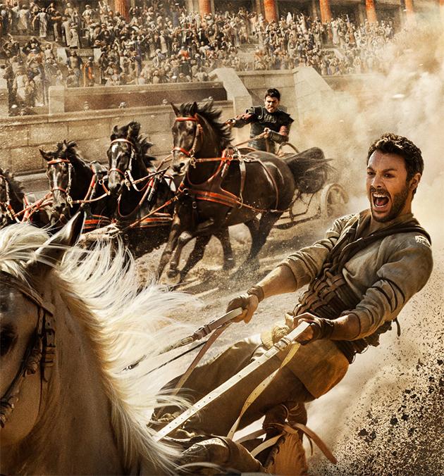 Projeções de bilheterias indicam que Ben-Hur será um fracasso épico
