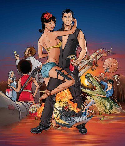 Série animada Archer é renovada por mais três temporadas