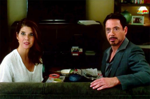 Robert Downey Jr. sugere namoro de Tony Stark e Tia May ...