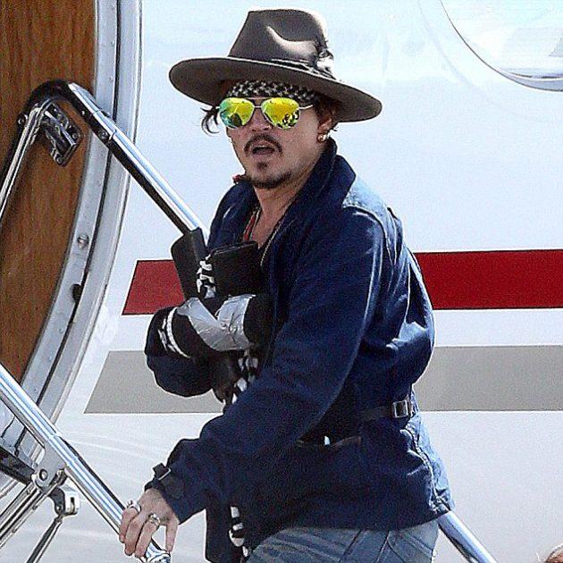 Acidente de Johnny Depp durante filmagens de Piratas do Caribe 5 ...