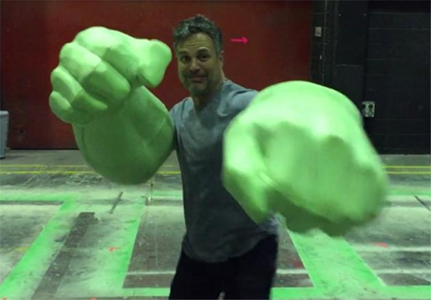 Mark Ruffalo incopora Hulk em vídeo dos bastidores de Thor ...