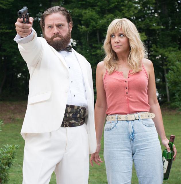 Gênios do Crime: Trailer de comédia reúne Zach Galifianakis e três ...