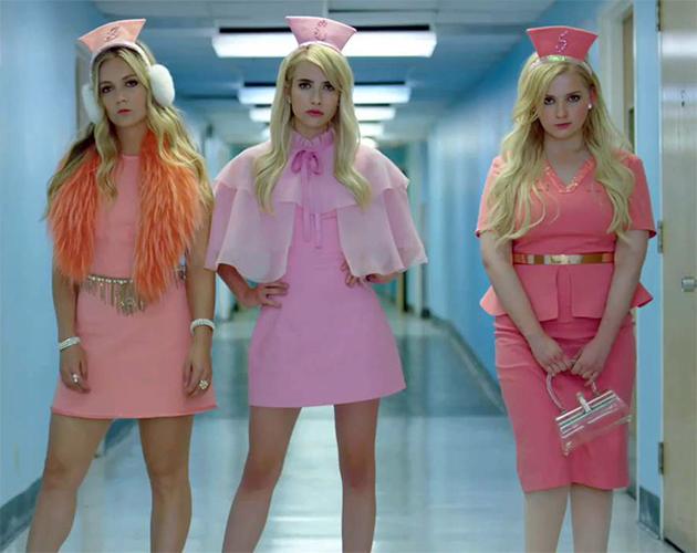 Scream Queens: Novo teaser destaca a volta das garotas de rosa ...