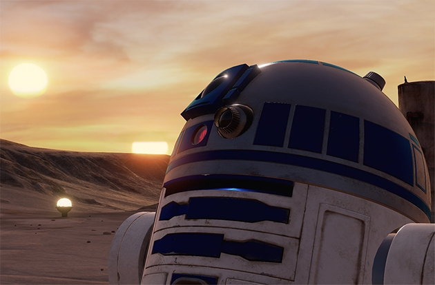 Star Wars ganhará game de realidade virtual com R2-D2 e Darth ...