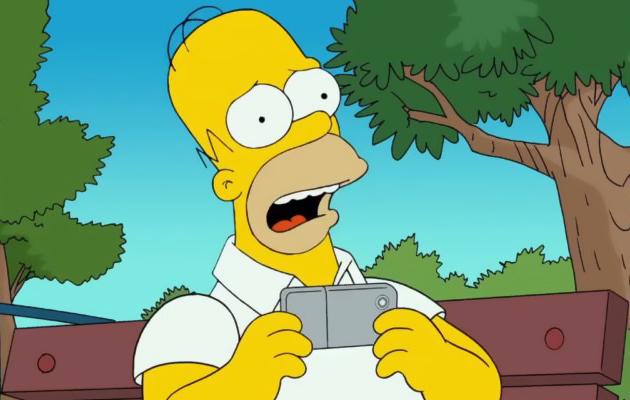 Os Simpsons: Vídeo divertido mostra Homer viciado em Pokémon Go