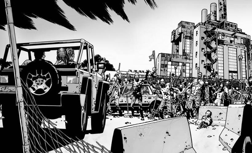 The Walking Dead: Fotos de drone revelam fortaleza de Negan ...
