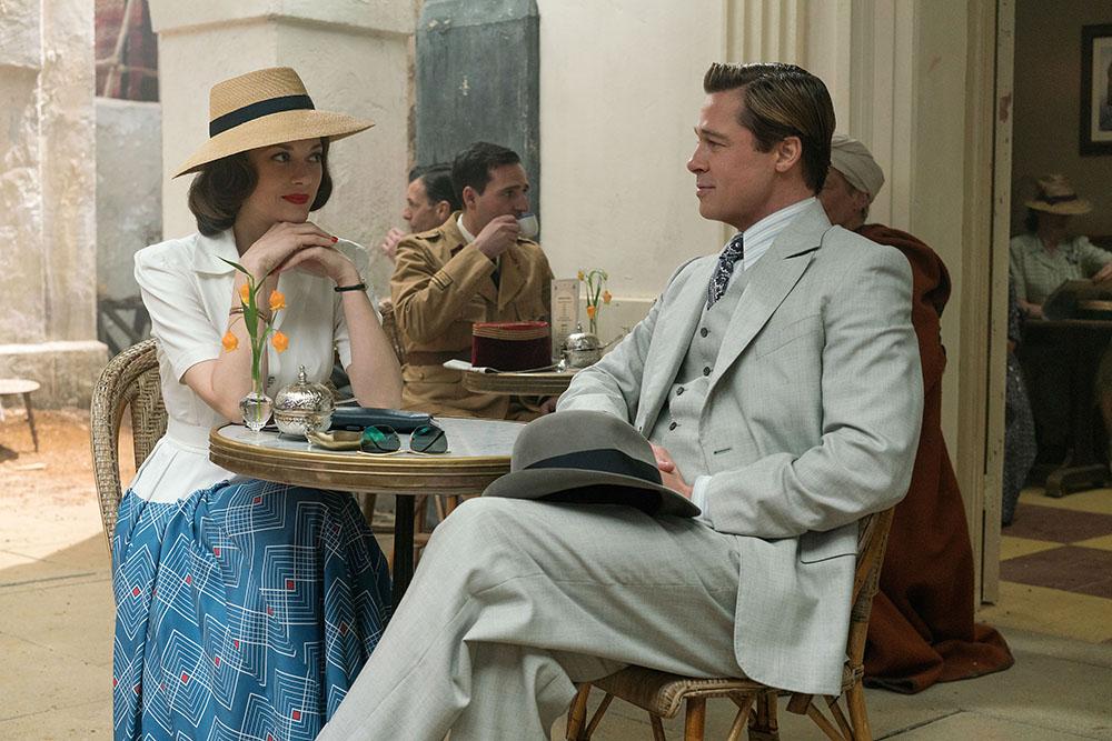 Aliados: Marion Cotillard seduz Brad Pitt em trailer de filme de ...