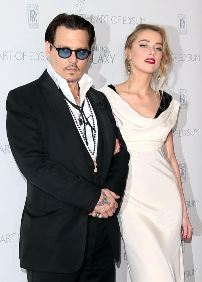 Johnny Depp e Amber Heard entram em acordo para finalizar seu divórcio