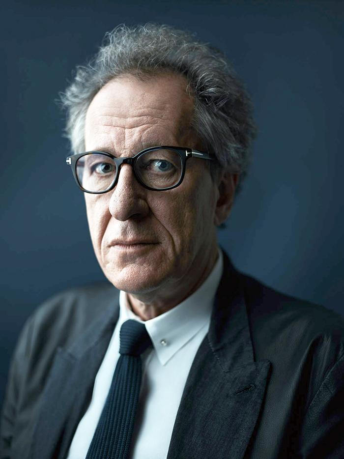 Geoffrey Rush viverá Albert Einstein em minissérie do cineasta Ron ...