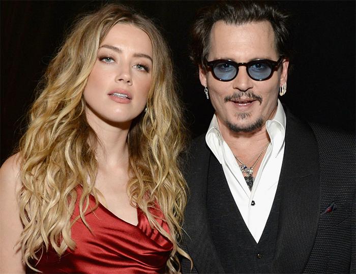 Vídeo flagra Johnny Depp bêbado e violento com Amber Heard