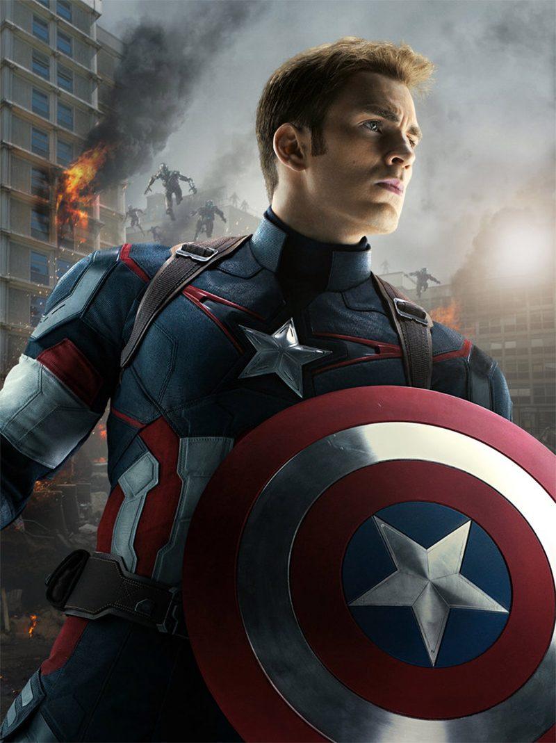 Chris Evans não será mais o Capitão América nos filmes da