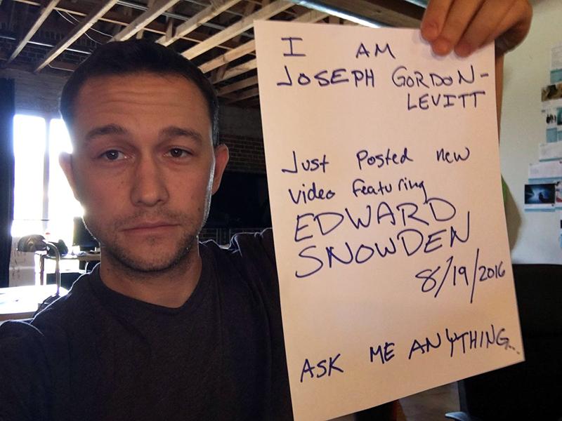 Joseph Gordon-Levitt, astro do filme Snowden, dirige curta ...