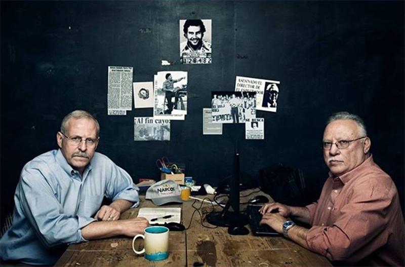 Narcos: Os verdadeiros agentes Steve Murphy e Javier Peña amam a série da Netflix