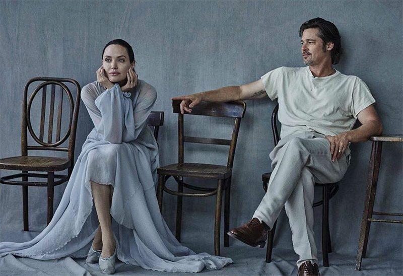 Brad Pitt acusa Angelina Jolie de comprometer a privacidade dos filhos