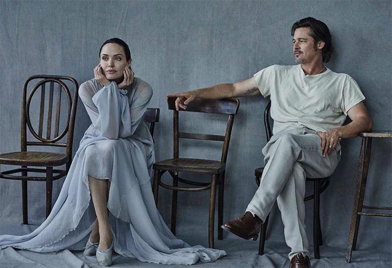 Angelina Jolie remove oficialmente o sobrenome de Brad Pitt ao fim do divórcio