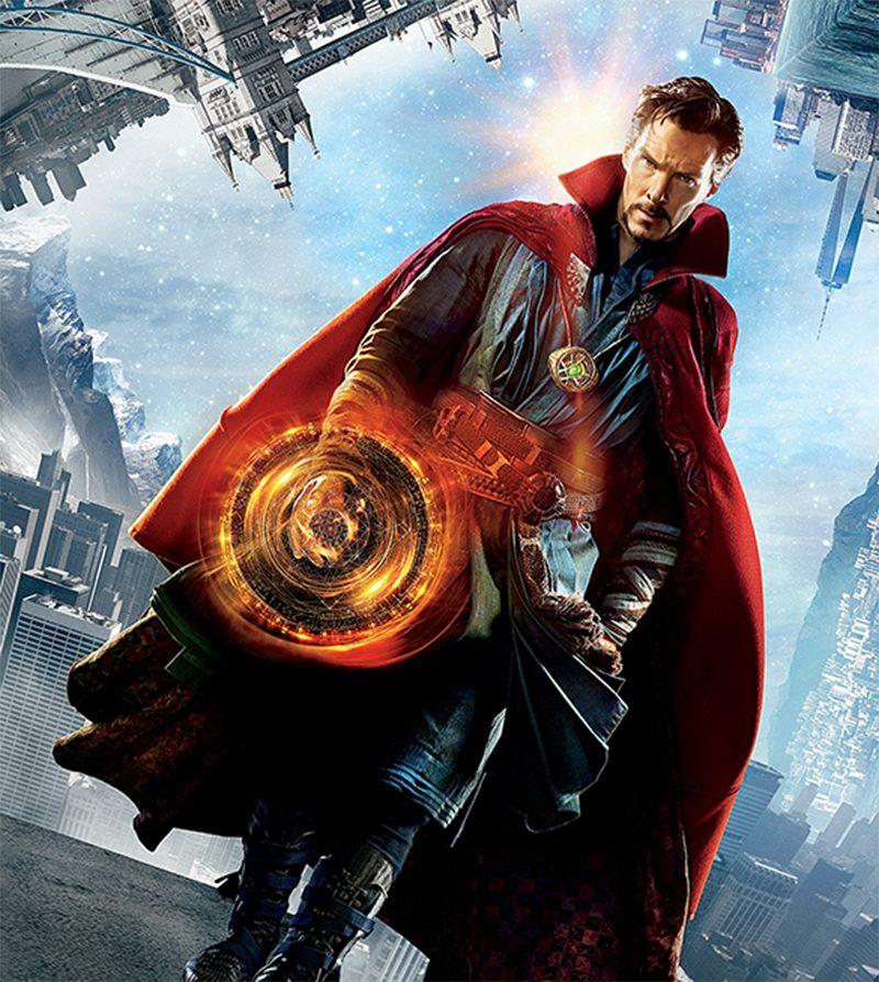 Doutor Estranho: Benedict Cumberbatch vira super-herói em novo ... Hannibal