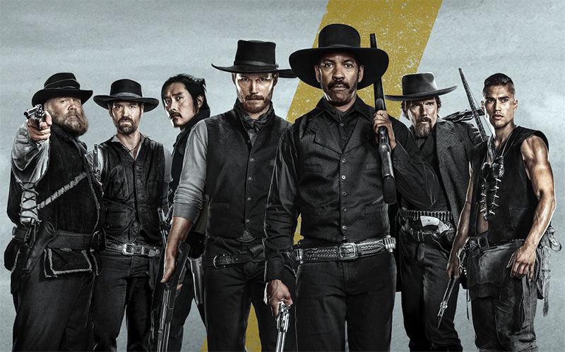 Sete Homens e um Destino: Sete vídeos apresentam os pistoleiros ...