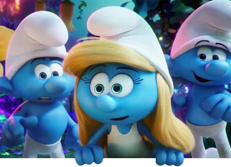 Novo trailer da animação dos Smurfs questiona por que só existe uma Smurfete