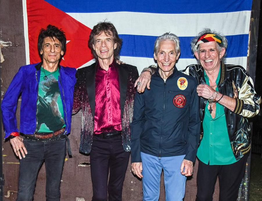 Documentário sobre a recente turnê latina dos Rolling Stones ...