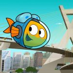 Peixonauta: Animação ganha primeiras fotos e pôster com imagens de São Paulo