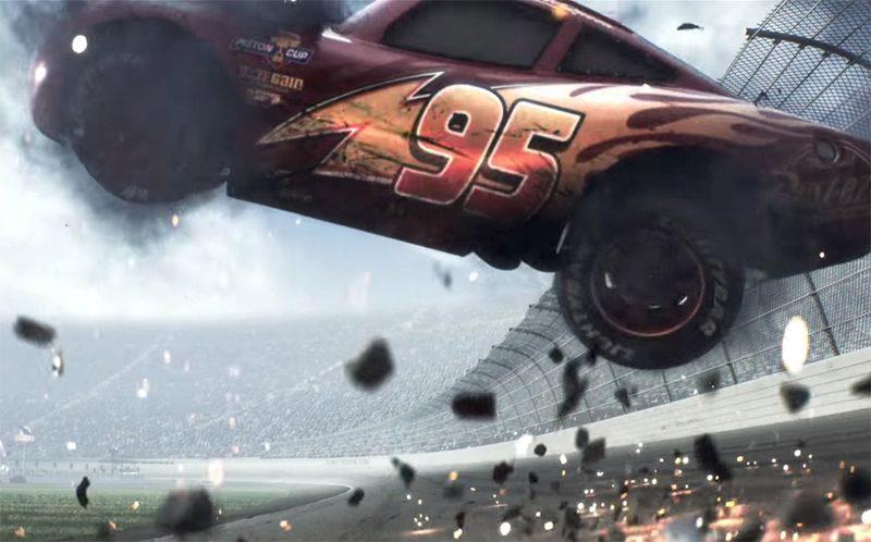 """Trailer """"sombrio"""" de Carros 3 gera comoção nas redes sociais"""