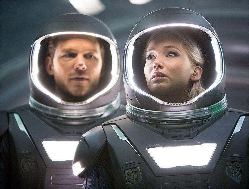 Veja três novas cenas legendadas da sci-fi Passageiros com Chris Pratt e Jennifer Lawrence