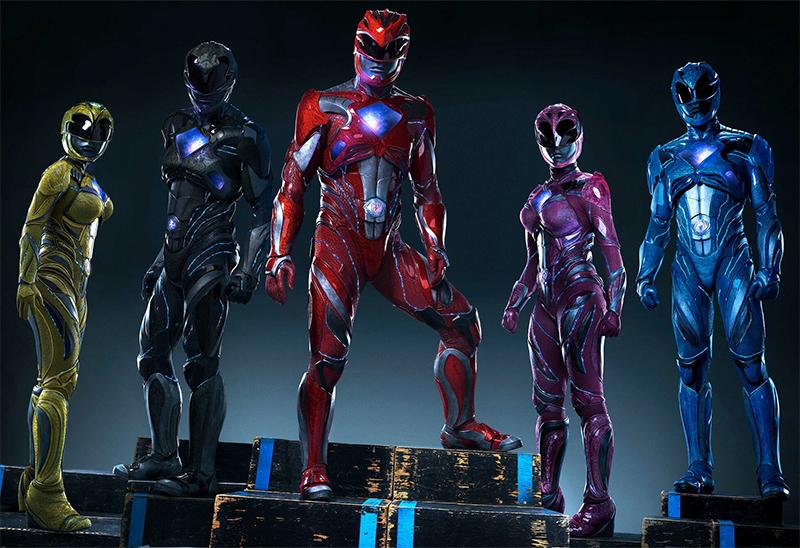 Filme dos Power Rangers ganha trailer japonês