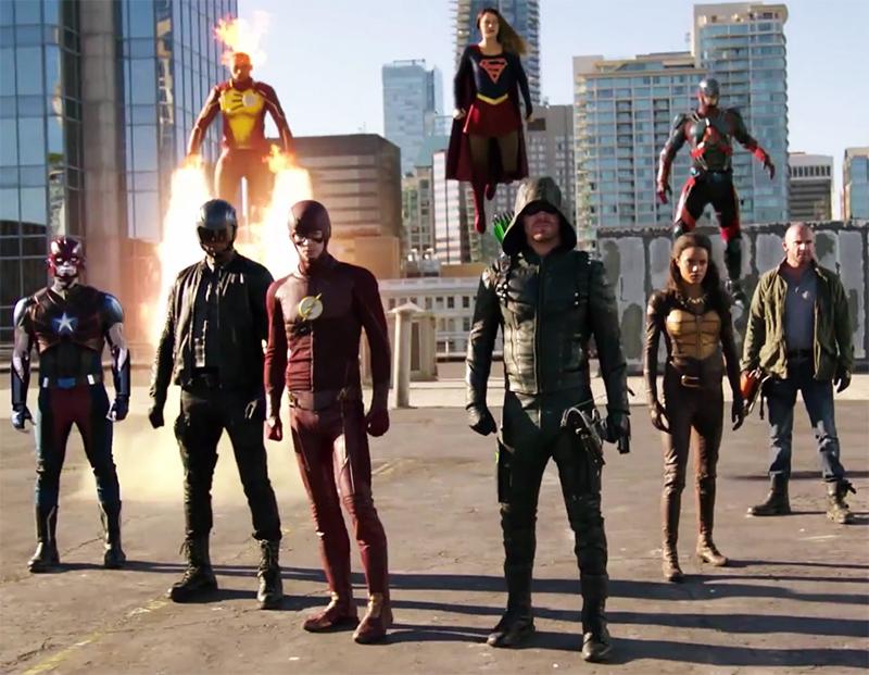 Crossover de Supergirl, The Flash, Arrow e Legends of Tomorrow ganha novos vídeos