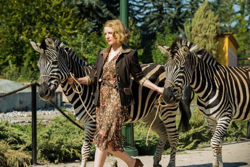 Jessica Chastain vive heroína do holocausto no trailer legendado de O Zoológico de Varsóvia