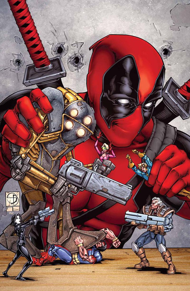 X Force Deadpool Filme dos mutantes X-F...
