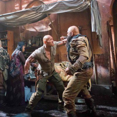 Dwayne Johnson divulga fotos e vídeos de cenas de ação de Jumanji