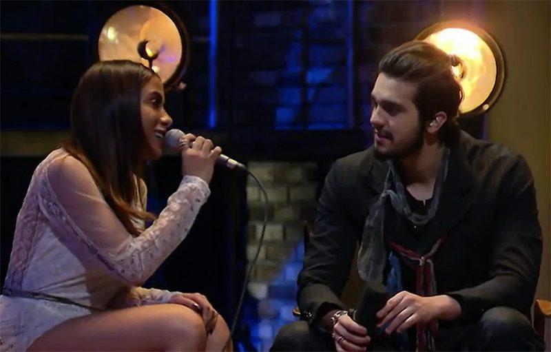 Luan Santana e Anitta gravam dueto em vídeo musical
