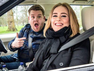 Carpool karaokê com Adele foi o vídeo viral mais visto do mundo no YouTube em 2016