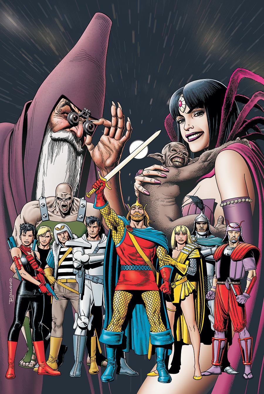 Episódio de Legends of Tomorrow ganha título da HQ cultuada Camelot 3000
